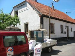 Izolace stropu rod. domu Horažďovice